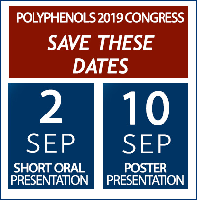 Malta Polyphenols 2019 Key dates